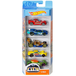Hot Wheels 5-pack 50th Anniversary City