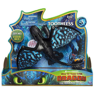 How To Train Your Dragon 3 Deluxe Dragon - Toothless