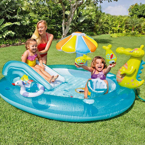 Intex Inflatable Gator Playcenter and Pool