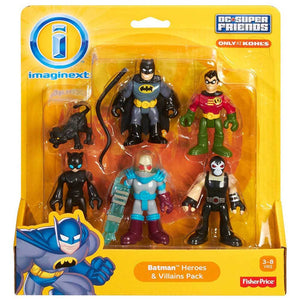 Imaginext DC Super Friends Batman Heroes & Villains Pack