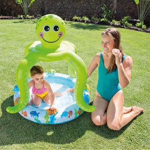Intex Baby Pool with Smiling Octopus Shade Cover
