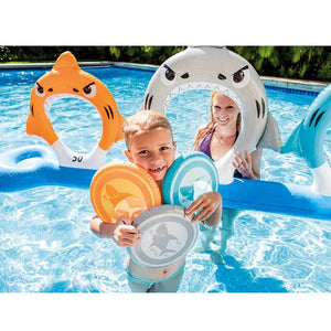 Intex Pool Game - Feed the Shark Disc Toss