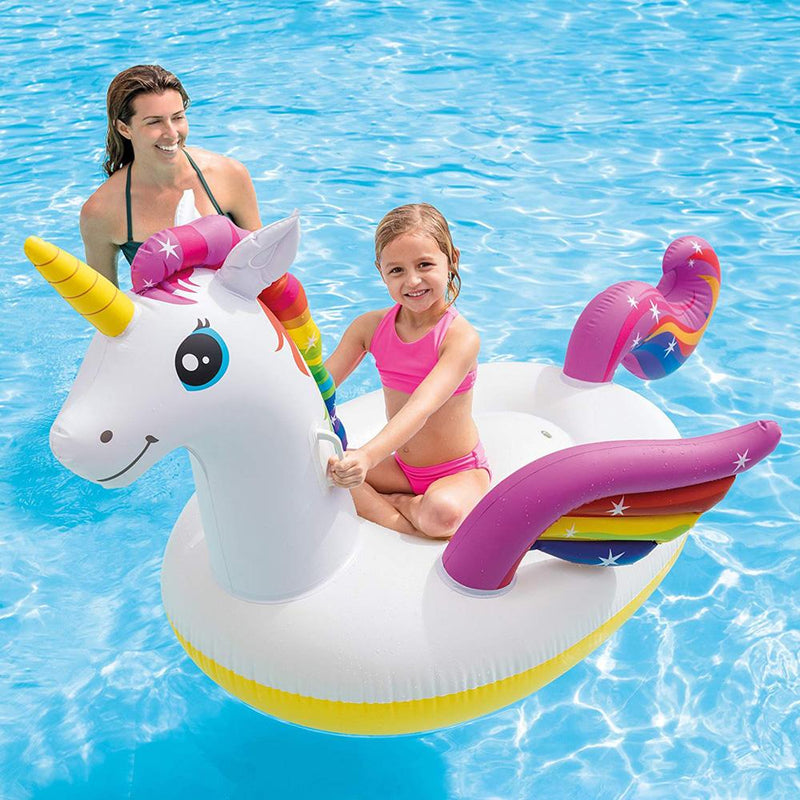 Buy Intex Giant Unicorn Pool Ride On online at Toy Universe