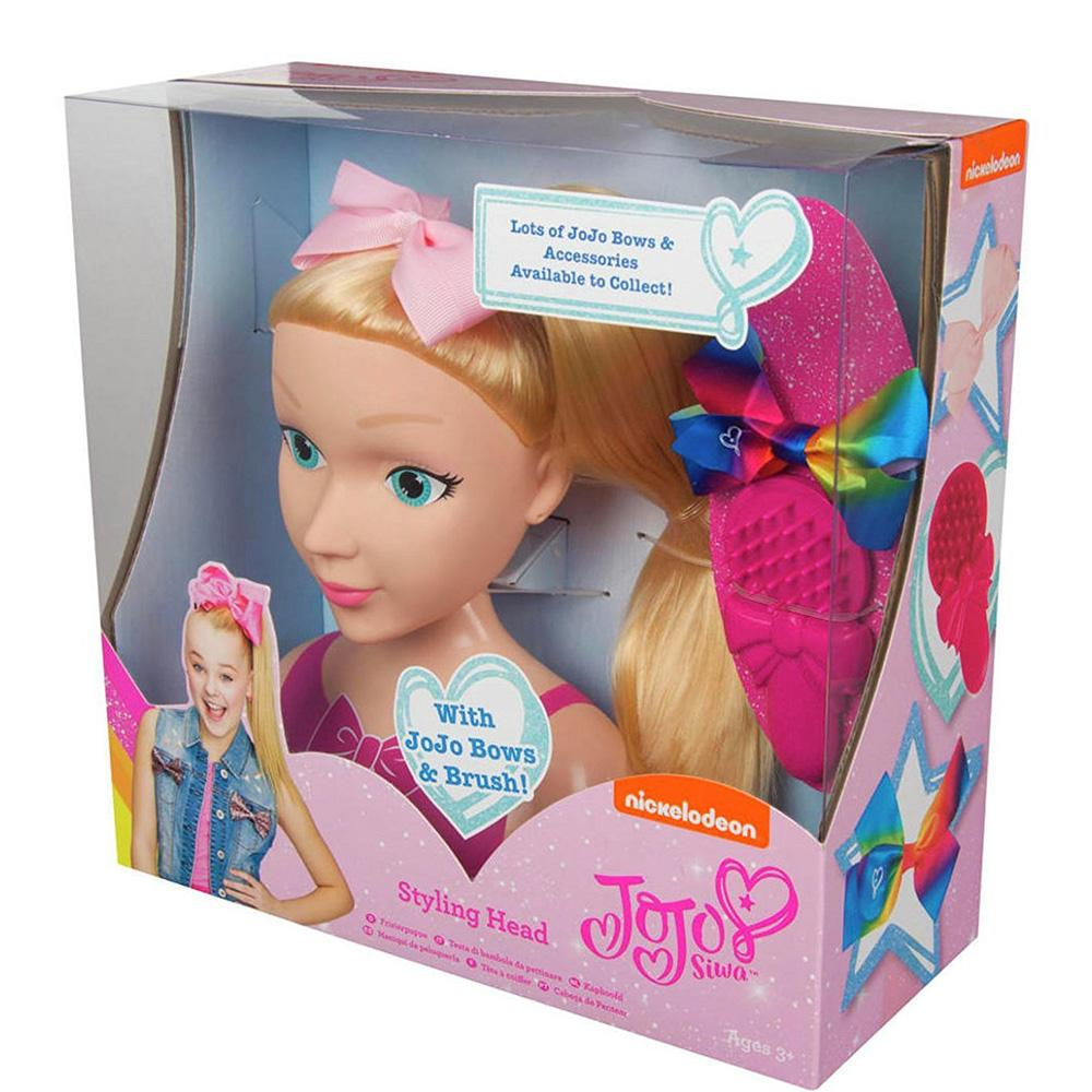 Buy Jojo Siwa Bows And Bling Styling Head Online At Toy Universe