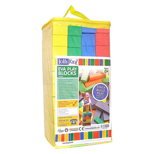 Jolly Kidz EVA Play Blocks - 40 Pack