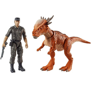 Jurassic World Story Pack Stygimoloch Stiggy and Mercenary