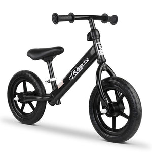 Rigo 12 Inch Balance Bike - Black