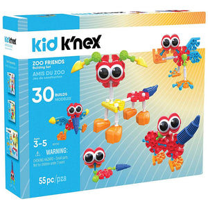 K'Nex - Kid K'NEX Zoo Friends Building Set
