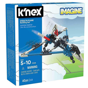 K'Nex Stealth Plane Building Set