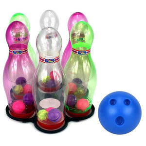 Kids Bowling Set with Lights