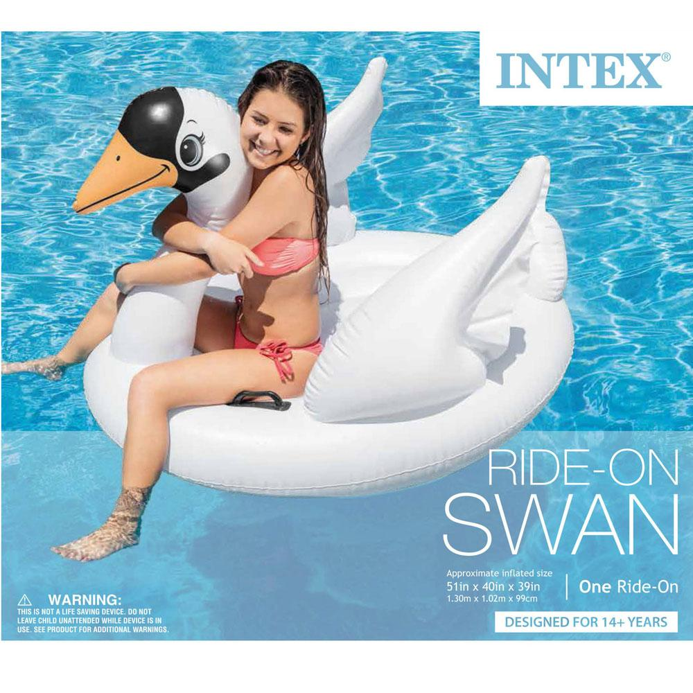 Buy Kids Large Inflatable Swan Pool Toy Online At Toy Universe ...