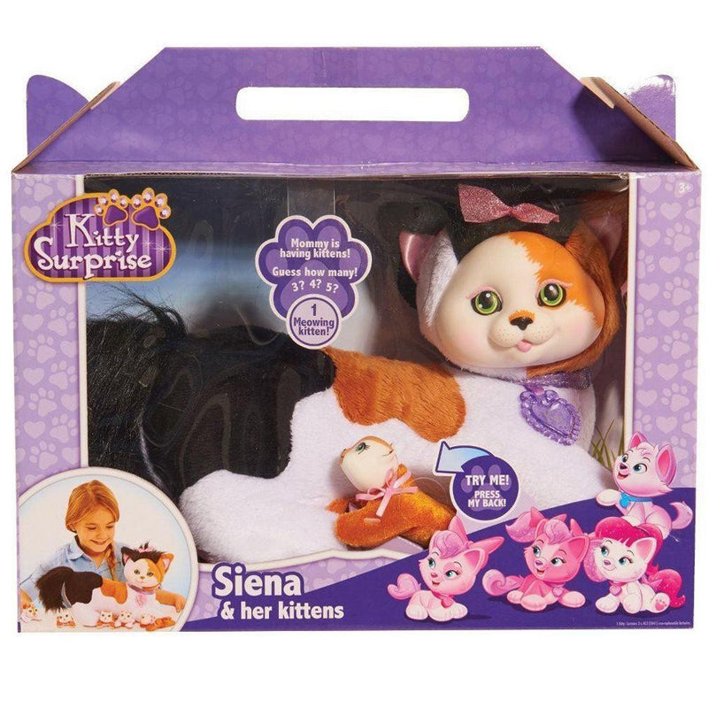 Buy Kitty Surprise Siena And Her Kittens Online At Toy