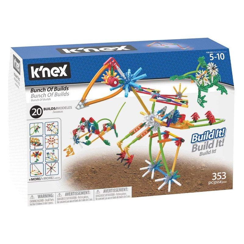 K'Nex Knex Bunch of Builds Building Set - Buy Online
