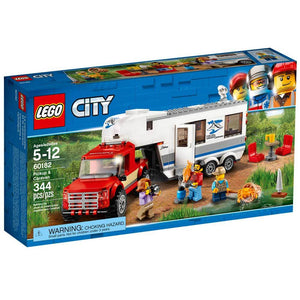 LEGO City Pickup and Caravan 60182