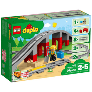 LEGO Duplo Train Bridge and Tracks - 10872
