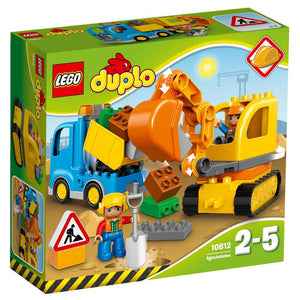 LEGO Duplo Truck and Tracked Excavator 10812