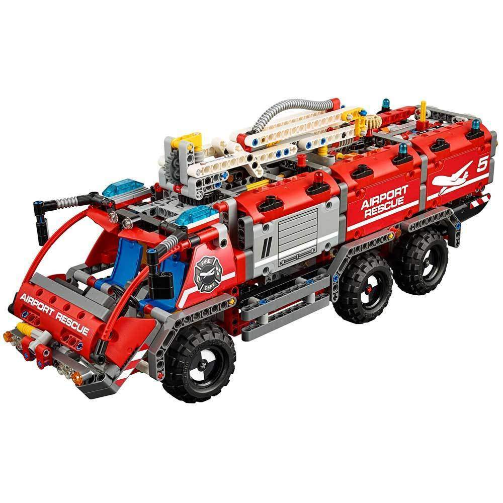 buy lego technic airport rescue vehicle 42068 online at toy universe. Black Bedroom Furniture Sets. Home Design Ideas