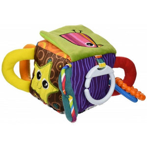 Lamaze Peek-A-Boo Surprise Clutch Cube
