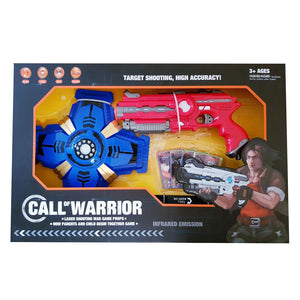 Laser Tag Shooting Game Set - Red