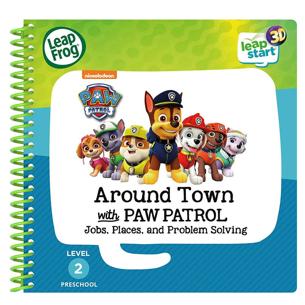 LeapFrog LeapStart Around Town with Paw Patrol - 3D Enhanced