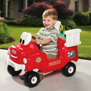 Little Tikes Spray & Rescue Fire Truck Ride On