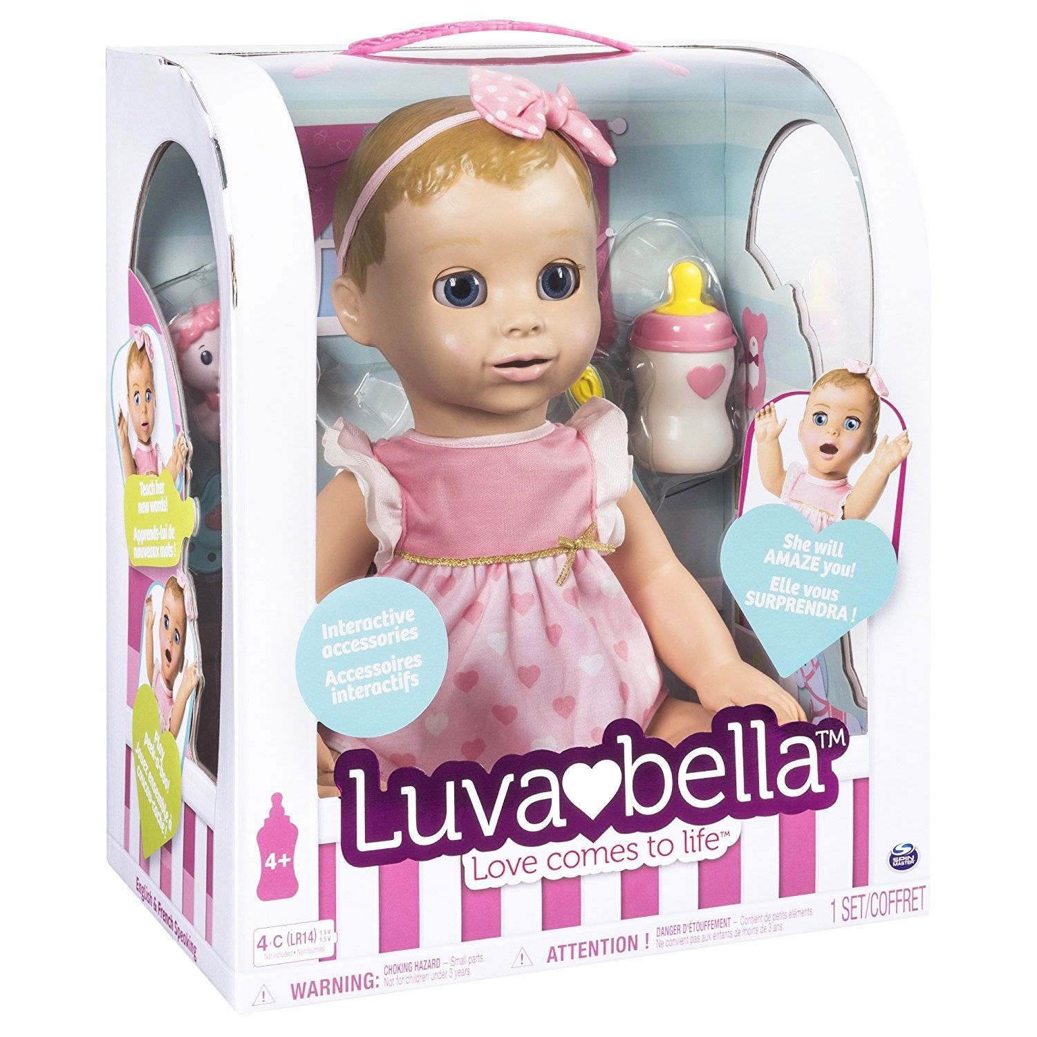 Buy Luvabella Responsive Baby Doll Online At Toy Universe