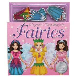 Magnetic Dressing Up Fairies Play Book