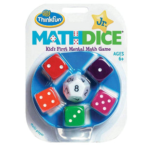 Math Dice Jr. Game by ThinkFun