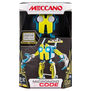 Meccano Robot Building Micronoid Code ACE