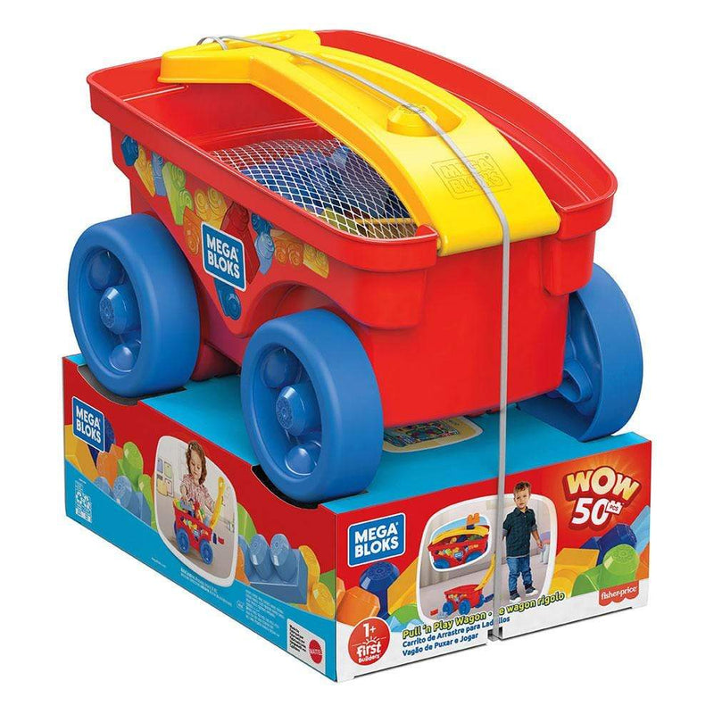 Mega Bloks First Builders Pull 'n Play Wagon | Stay At Home Mum