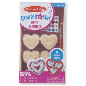 Melissa and Doug Created by Me Heart Magnets