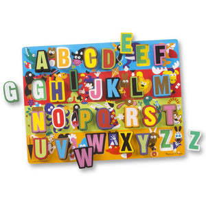Melissa and Doug Jumbo ABC Chunky Puzzle - 26 Piece