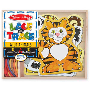 Melissa and Doug Lace & Trace - Wild Animals