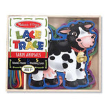 Melissa and Doug Melissa and Doug Lace and Trace Farm Animals - Buy Online