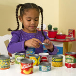 Melissa and Doug Melissa and Doug Lets Play House Grocery Cans - Buy Online