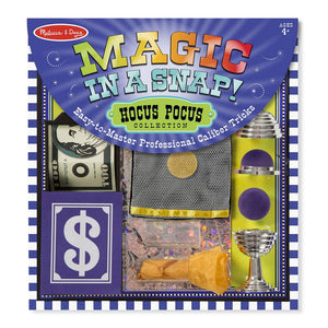 Melissa and Doug Magic in a Snap Hocus Pocus Collection