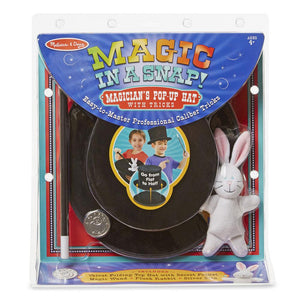 Melissa and Doug Magic in a Snap Magician's Pop-Up Magical Hat