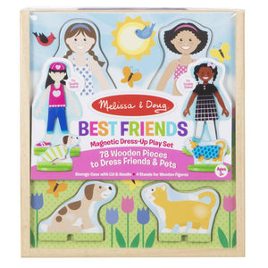 Melissa and Doug Magnetic Dress-Up Best Friends Play Set