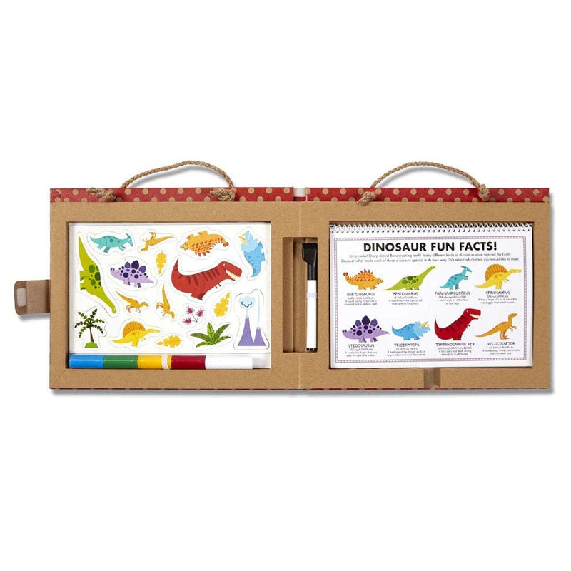 Melissa and Doug Melissa and Doug Natural Play - Play Draw Create Dinosaurs - Buy Online