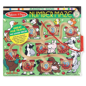 Melissa and Doug Number Magnetic Wand Maze