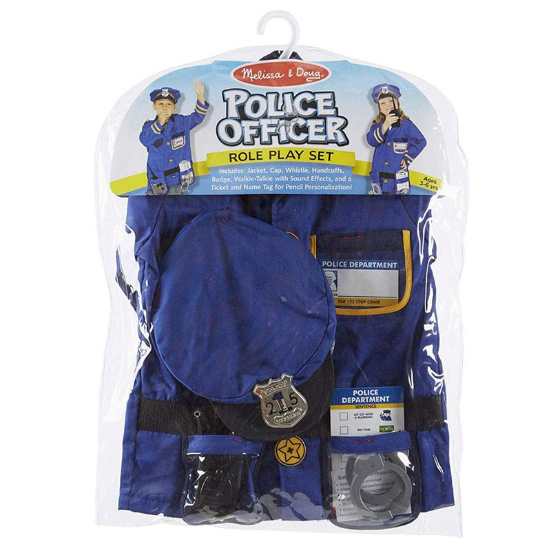 Melissa and Doug Melissa and Doug Police Officer Dress Up Costume - Buy Online