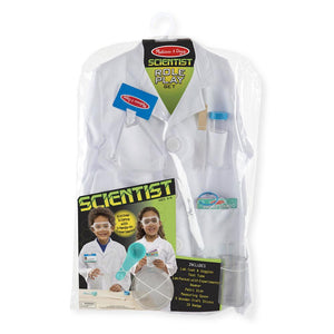 Melissa and Doug Scientist Role Play Kids Costume