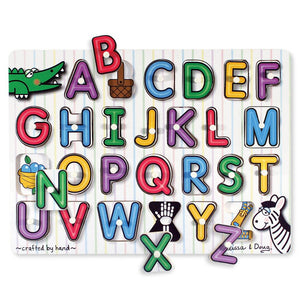 Melissa and Doug See Inside Alphabet Peg Puzzle