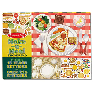 Melissa and Doug Sticker Collection - Make A Meal