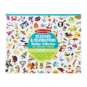 Melissa and Doug Sticker Collection Seasons & Celebrations Pad