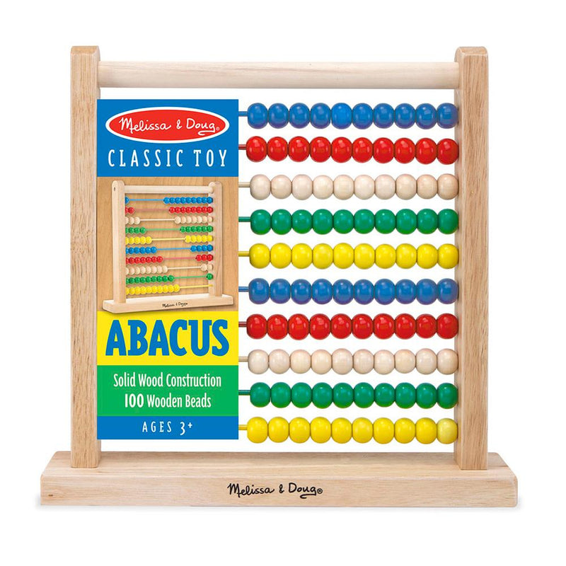 Melissa and Doug Wooden Abacus | Buy Online at Toy Universe