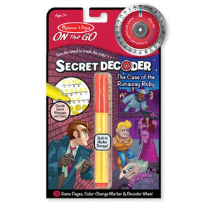 Melissa and Doug Case of the Runaway Ruby On The Go Secret Decoder