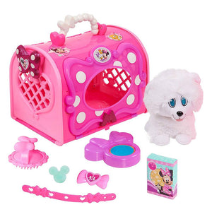 Minnie Mouse Happy Helpers Pet Carrier with Snowpuff