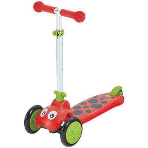 Mookie Scootie Bug Ladybug 3 Wheel Scooter for Kids