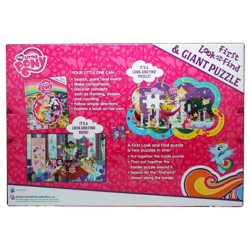 My Little Pony My Little Pony First Look and Find Giant Puzzle - Buy Online